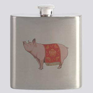 Chinese New Year Pig Flask