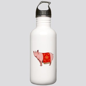 Chinese New Year Pig Stainless Water Bottle 1.0L