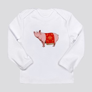 Chinese New Year Pig Long Sleeve T-Shirt