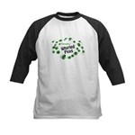 Visualize Whirled Peas Kids Baseball Jersey