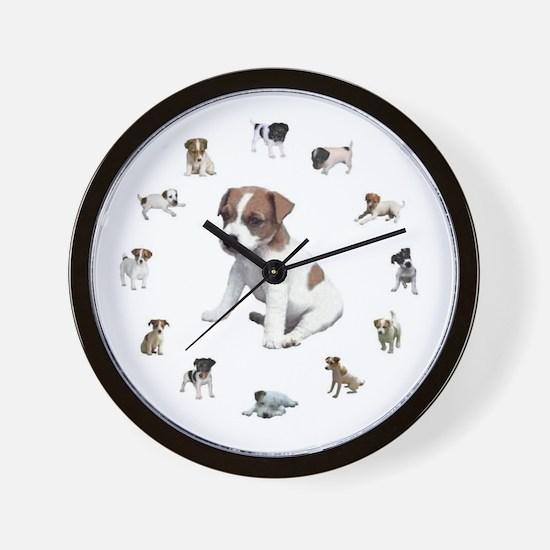 JRT PUPPIES Wall Clock