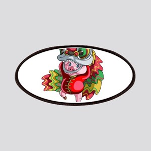 Chinese Dragon Pig Patch