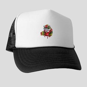 Chinese Dragon Pig Trucker Hat