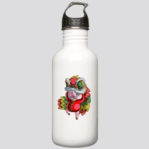 Chinese Dragon Pig Stainless Water Bottle 1.0L