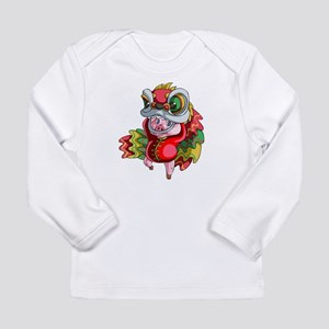 Chinese Dragon Pig Long Sleeve T-Shirt