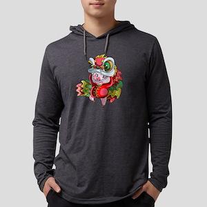 Chinese Dragon Pig Long Sleeve T-Shirt