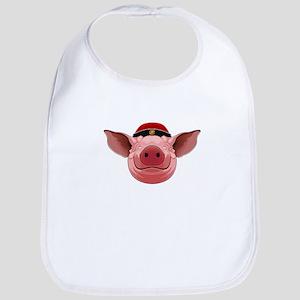 Pig Face Baby Bib