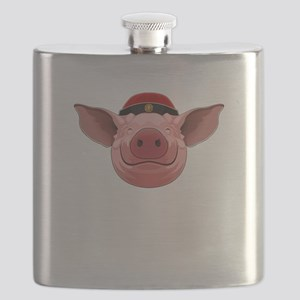 Pig Face Flask