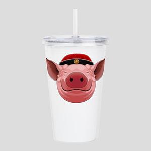 Pig Face Acrylic Double-wall Tumbler