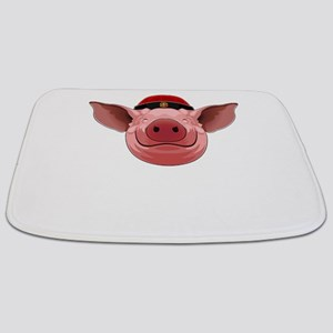Pig Face Bathmat