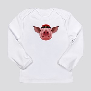 Pig Face Long Sleeve T-Shirt