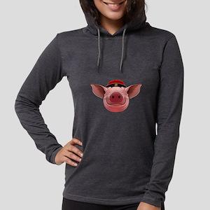 Pig Face Long Sleeve T-Shirt