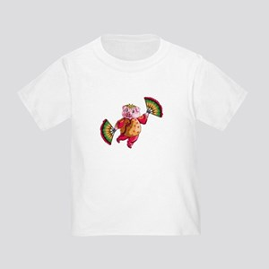 Dancing Chinese New Year Pig T-Shirt