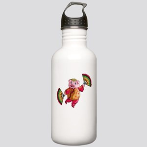 Dancing Chinese New Ye Stainless Water Bottle 1.0L