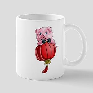Chines New Year Pig Mugs