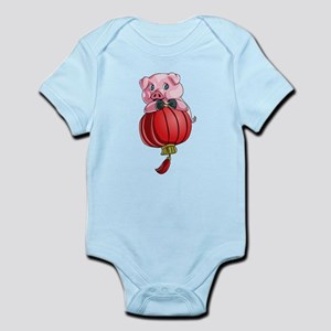 Chines New Year Pig Body Suit