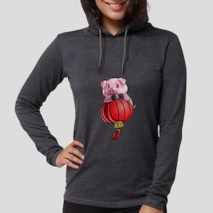 Chines New Year Pig Long Sleeve T-Shirt
