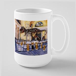 A Christmas Corgi Bodacious B Large Mug
