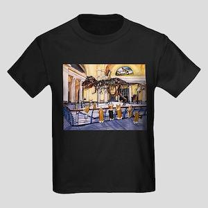A Christmas Corgi Bodacious B Kids Dark T-Shirt