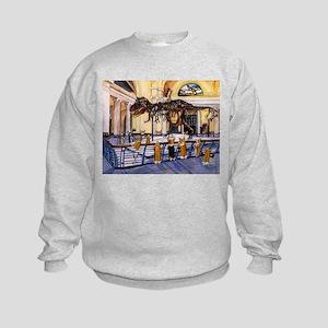 A Christmas Corgi Bodacious B Kids Sweatshirt