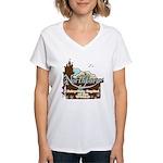 Northboro Women's V-Neck T-Shirt