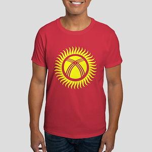 Kyrgyzstan Symbol Dark T-Shirt