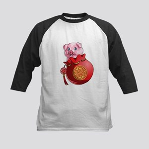 Chines New Year Pig Baseball Jersey