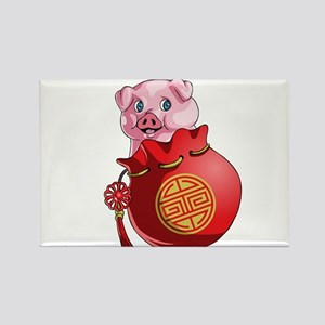 Chines New Year Pig Magnets