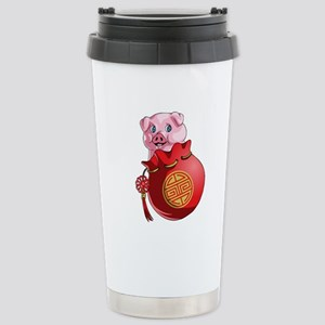 Chines New Year Pig Mugs