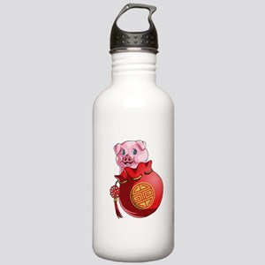 Chines New Year Pig Stainless Water Bottle 1.0L
