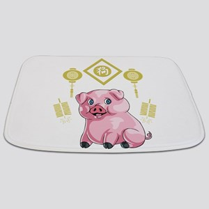 Chinese New Year Pig Bathmat