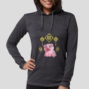 Chinese New Year Pig Long Sleeve T-Shirt