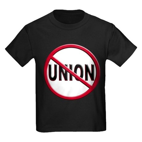 Anti-Union Kids Dark T-Shirt