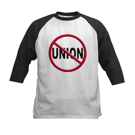 Anti-Union Kids Baseball Jersey