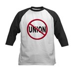Anti-Union Kids Baseball Jersey