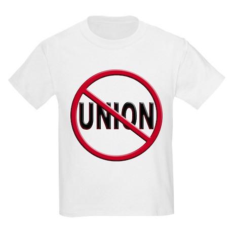Anti-Union Kids Light T-Shirt