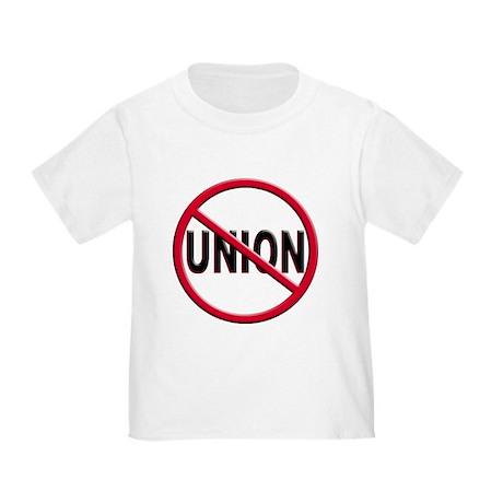Anti-Union Toddler T-Shirt