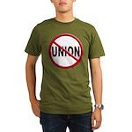 Anti-Union Organic Men's T-Shirt (dark)