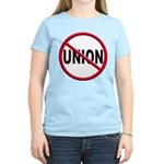 Anti-Union Women's Light T-Shirt