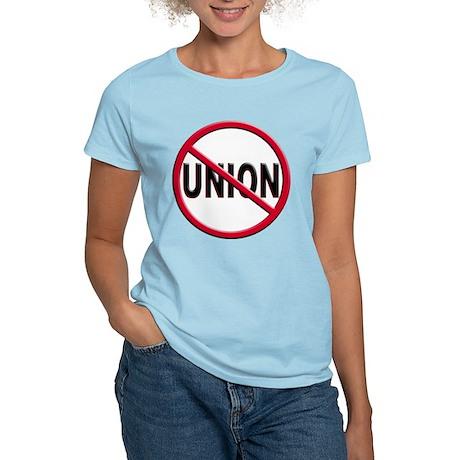 Anti-Union Women's Light T-Shirt