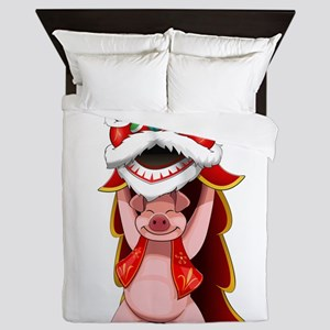 Pig Dragon Queen Duvet