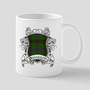Davidson Tartan Shield Mug