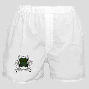 Davidson Tartan Shield Boxer Shorts