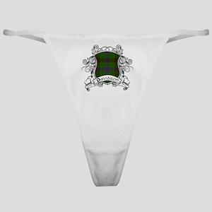 Davidson Tartan Shield Classic Thong