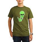 ILY Alien Organic Men's T-Shirt (dark)