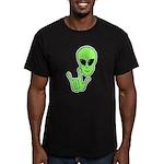 ILY Alien Men's Fitted T-Shirt (dark)