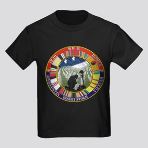 IN MEMORY Kids Dark T-Shirt