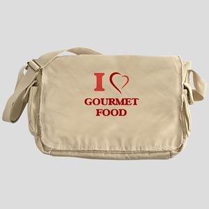 I love Gourmet Food Messenger Bag