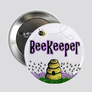 """Beekeepers 2.25"""" Button"""