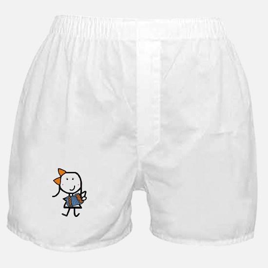 Girl & Accordion Boxer Shorts